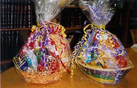Two Mishloach Manot (Purim baskets)
